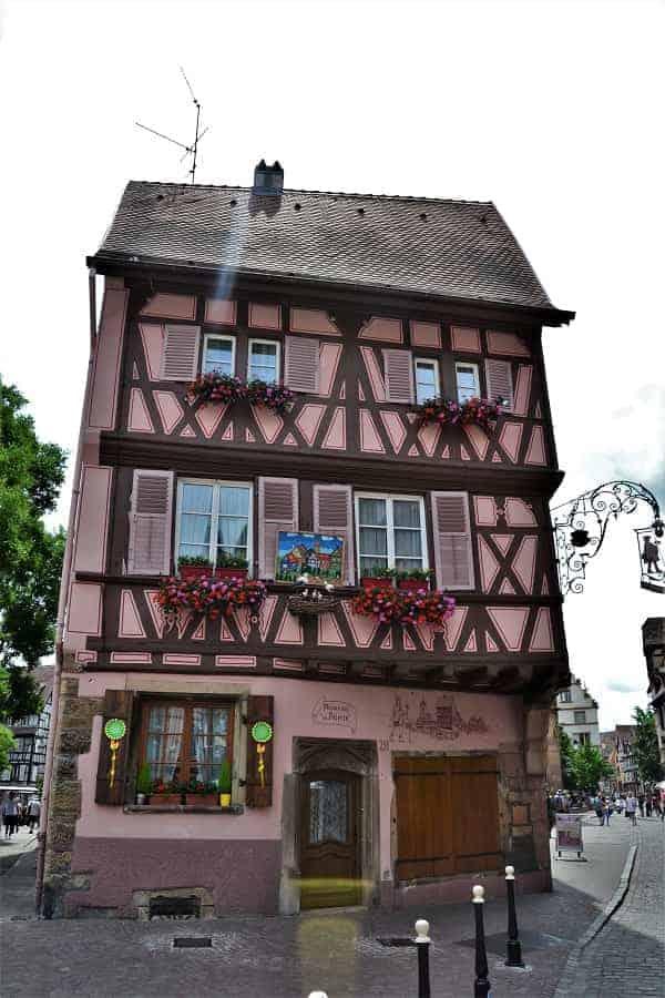 Half Timber Medieval Home in Colmar