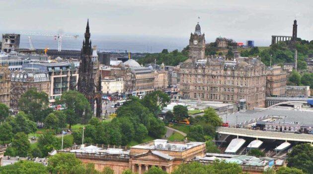 Edinburgh Scotland City