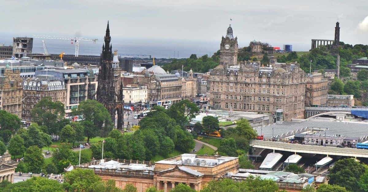 Edinburgh Scotland City