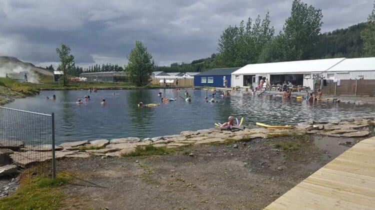 Visit Secret Lagoon in Iceland