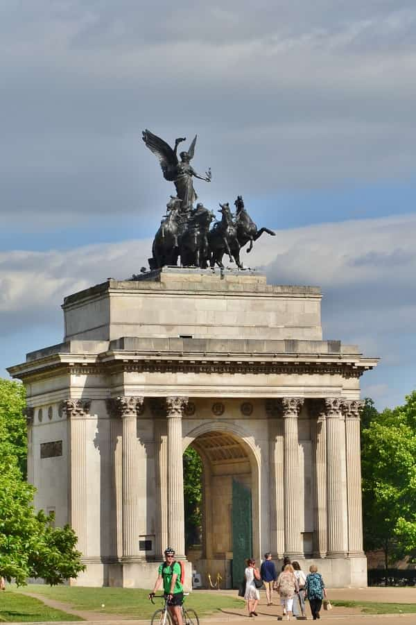 London Wellington Arch Site