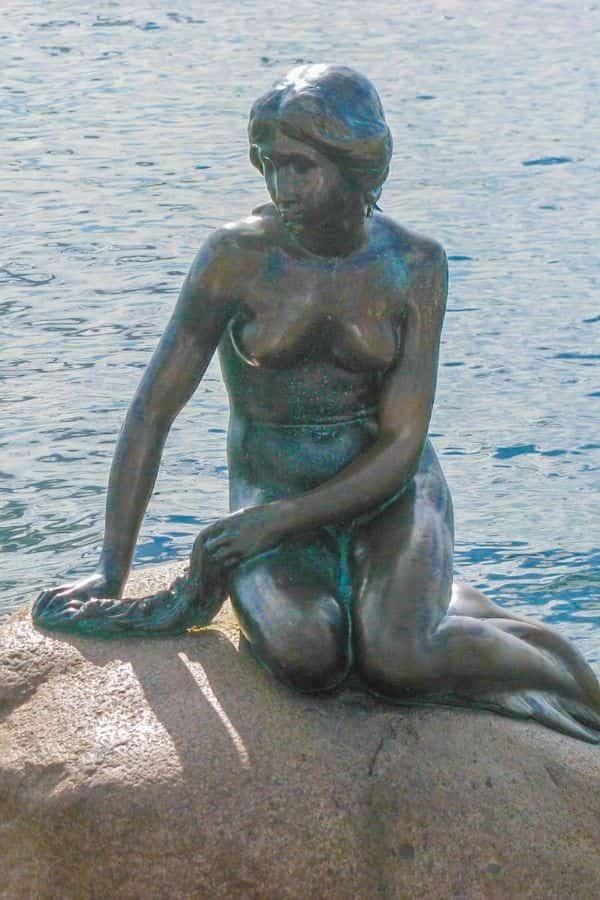 Copenhagen Mermaid Statue