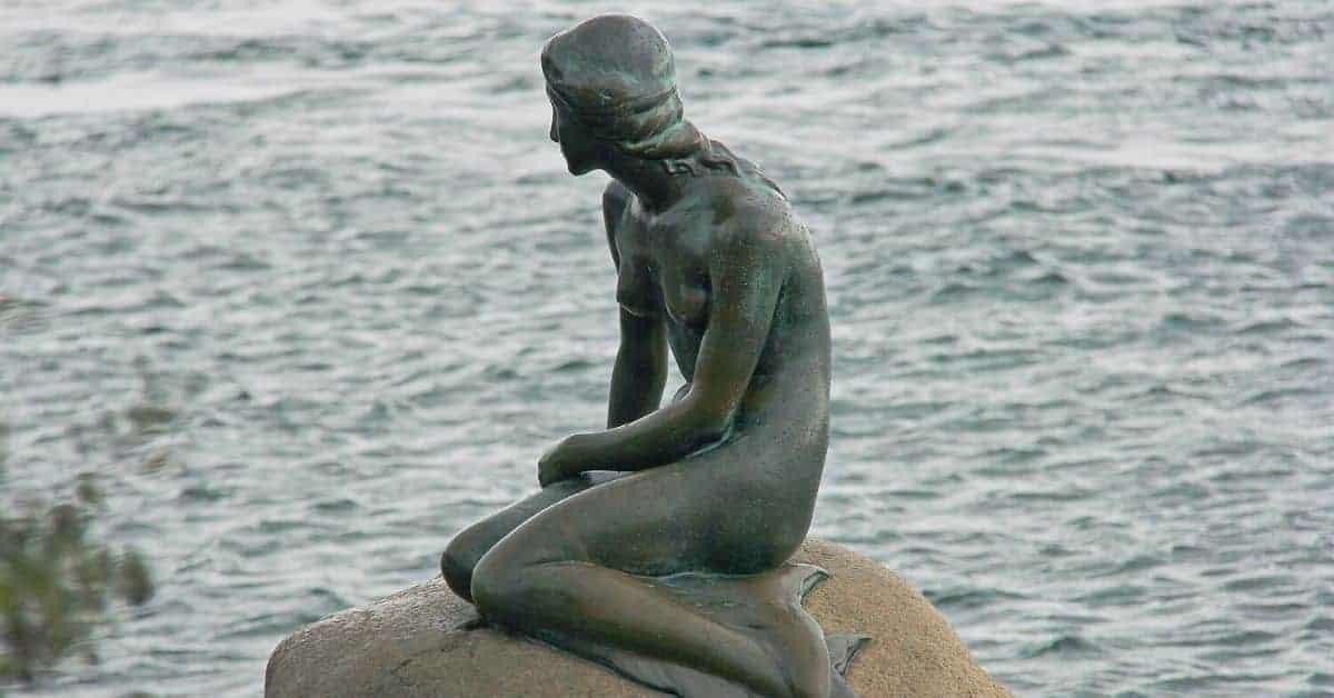 Copenhagen Little Mermaid Statue