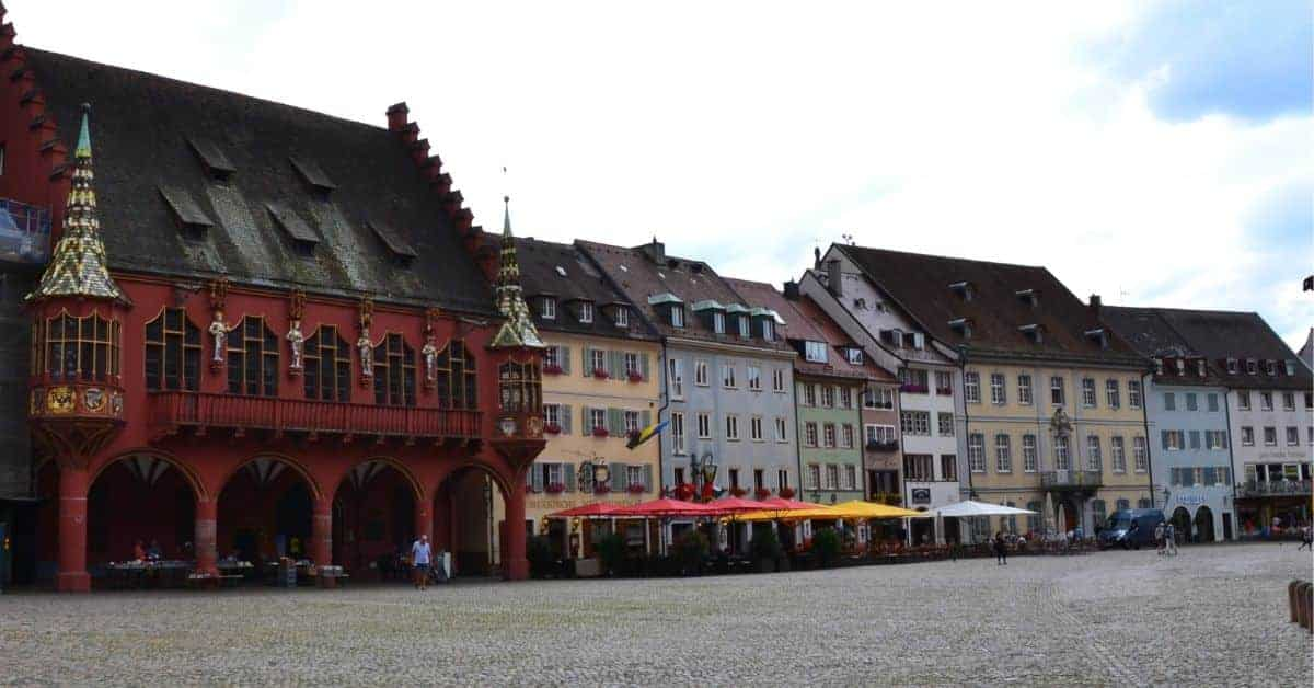 Architecture in Freiburg Germany