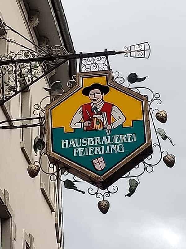 Hausbraueri Feirling Brewery in Freiburg Germany