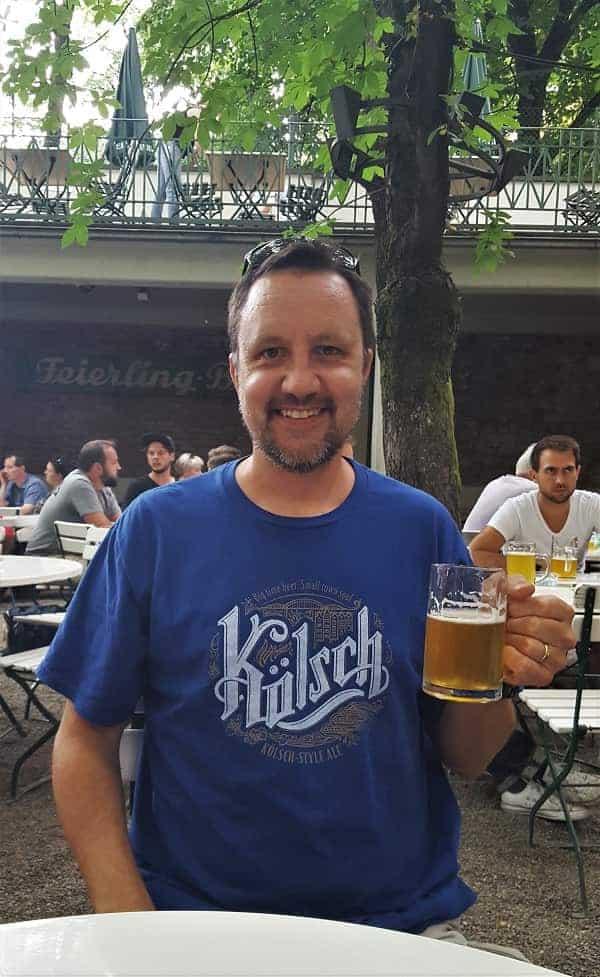 Beer Garden in Freiburg