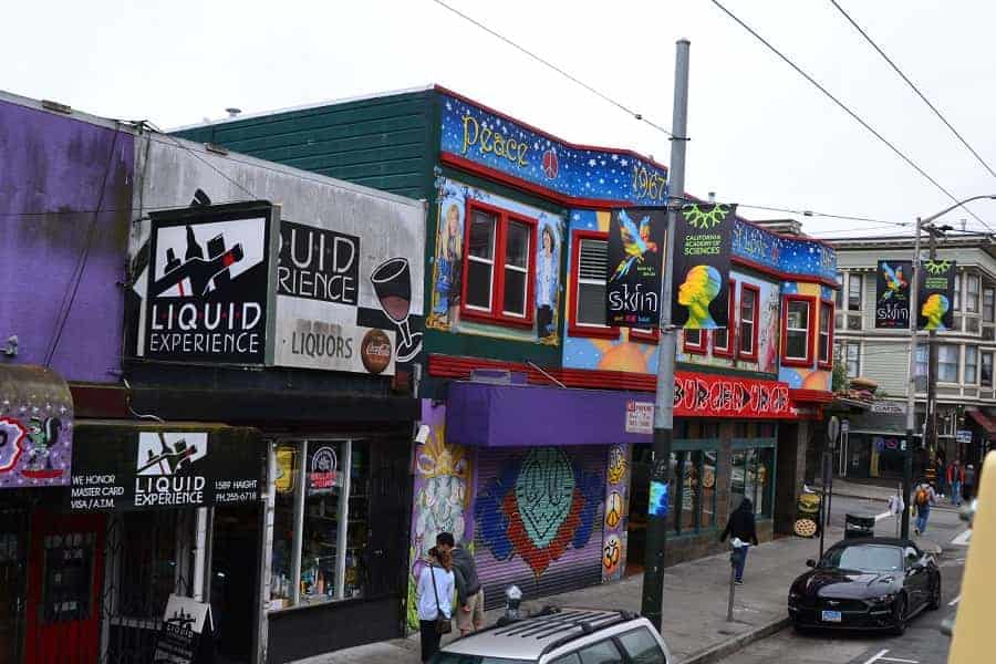Haight Street / Ashbury San Francisco