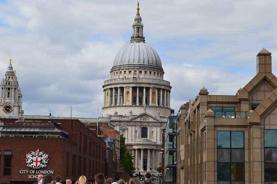 St Pauls in London