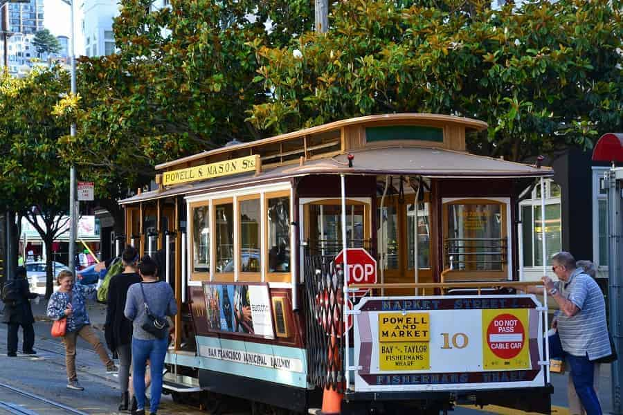 Riding Cable Cars in San Franciso