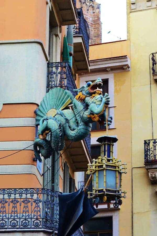 Gothic Quarter Dragon