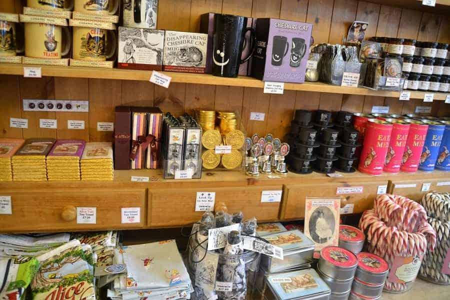 Inside Alice's Shop