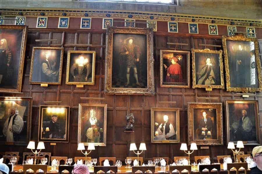 Portraits in Christ Church Grand Hall