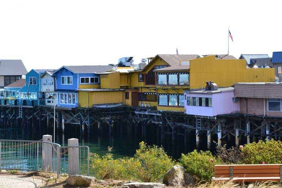 Monterey Wharf in California