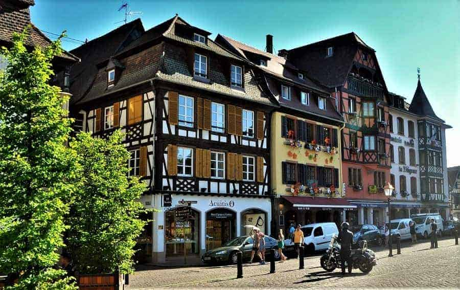 Village of Obernai France