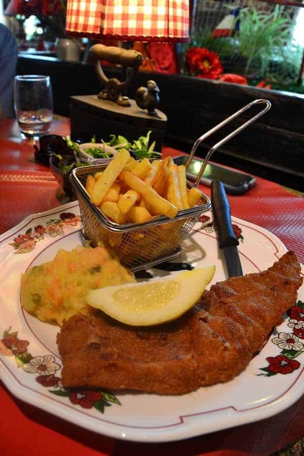 Obernai Alsace Meal