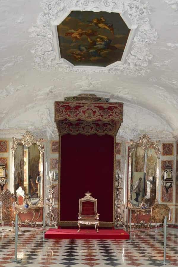 Throne in Rosenborg