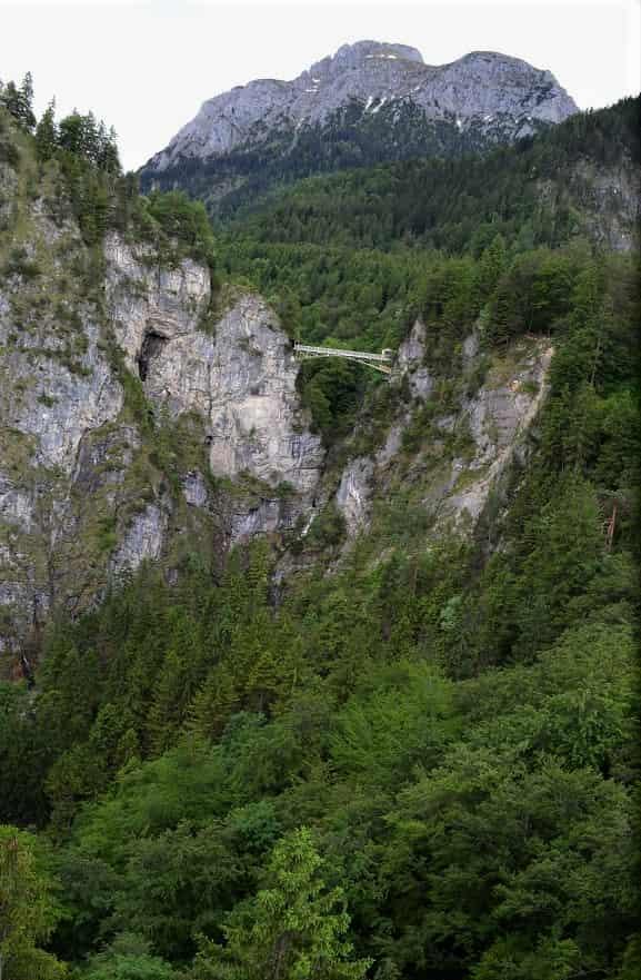 Neuschwanstein Castle View of Bridge