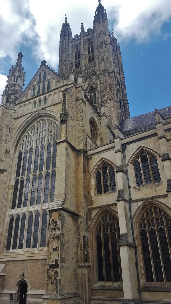 Canterbury Cathedral in Kent England