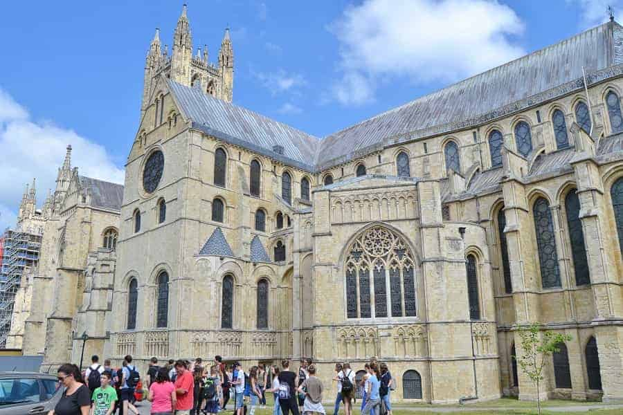 Kent England: Canterbury Cathedral