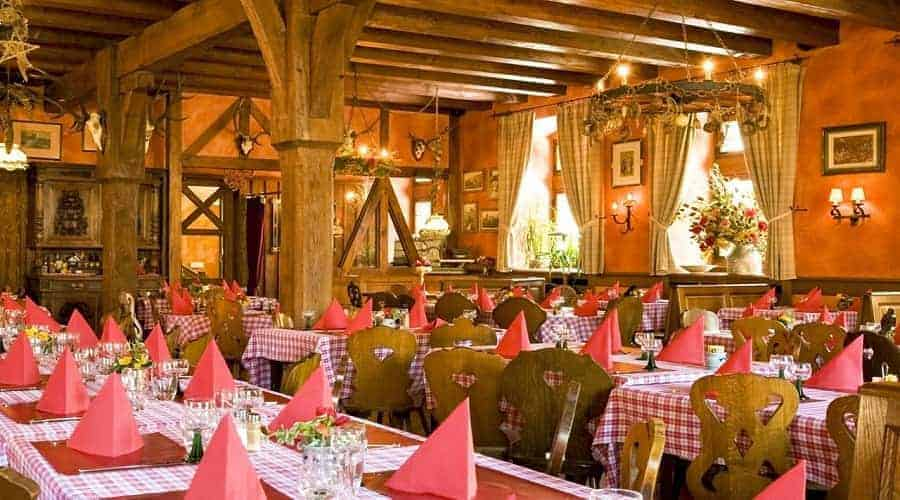La Halle Aux Bles in Obernai interior