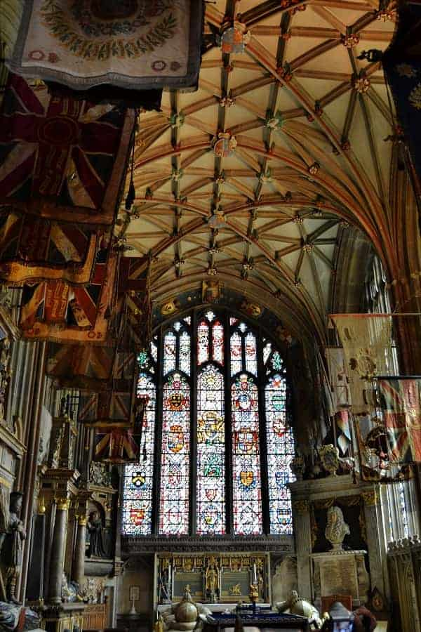 Inside of Canterbury Cathedral