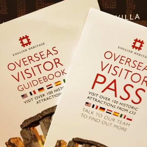 English Heritage Pass for Overseas Guests