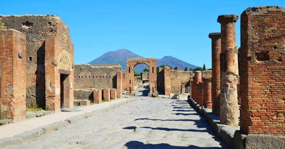 Pompeii Mt. Vesuvius View