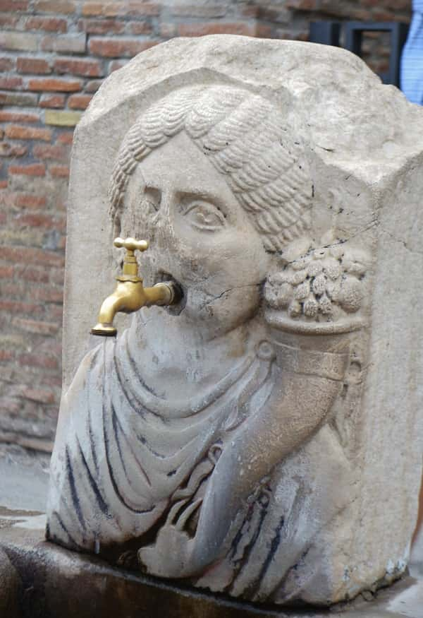 Fresh Water in Pompeii