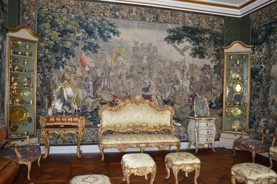 Tapestry in Rosenborg Castle