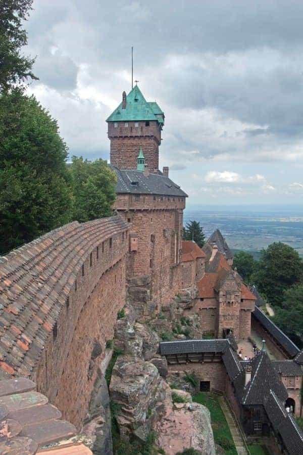Haut-Kœnigsbourg Cliffside Castle