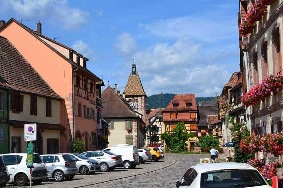 Alsace region: Saint Hippolyte