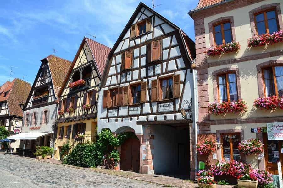 Saint Hippolyte on Alsace Wine Route