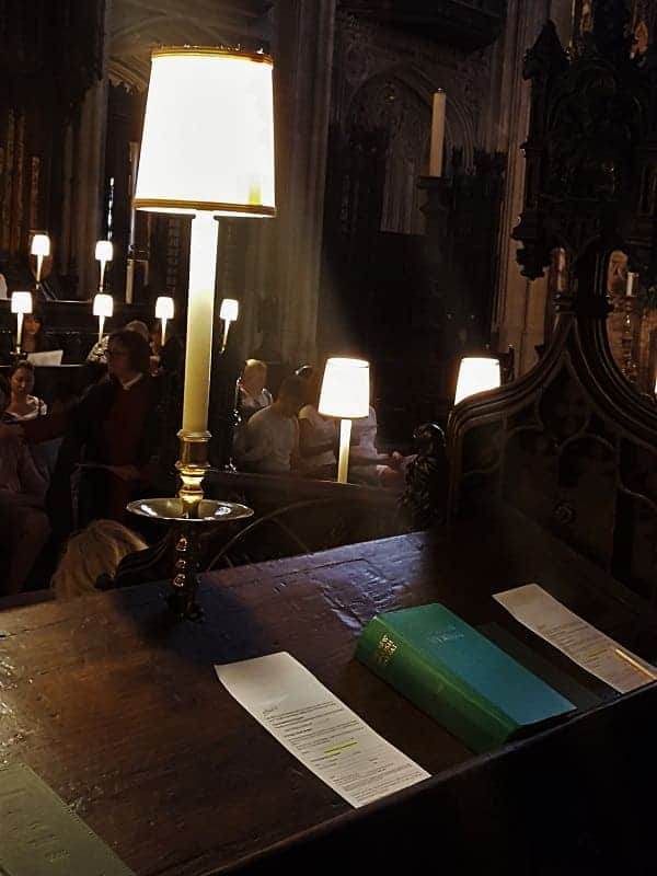 St. George's Evensong