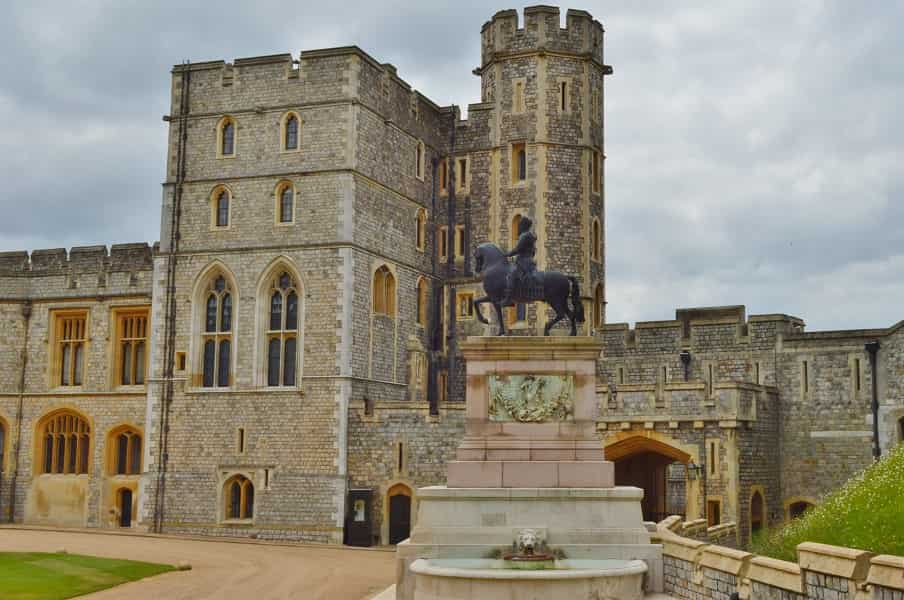Equestrian Statue at Windsor Castle
