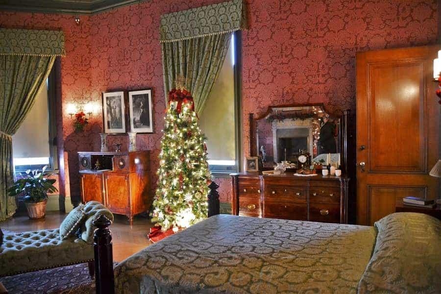 Biltmore Bedroom at Christmas