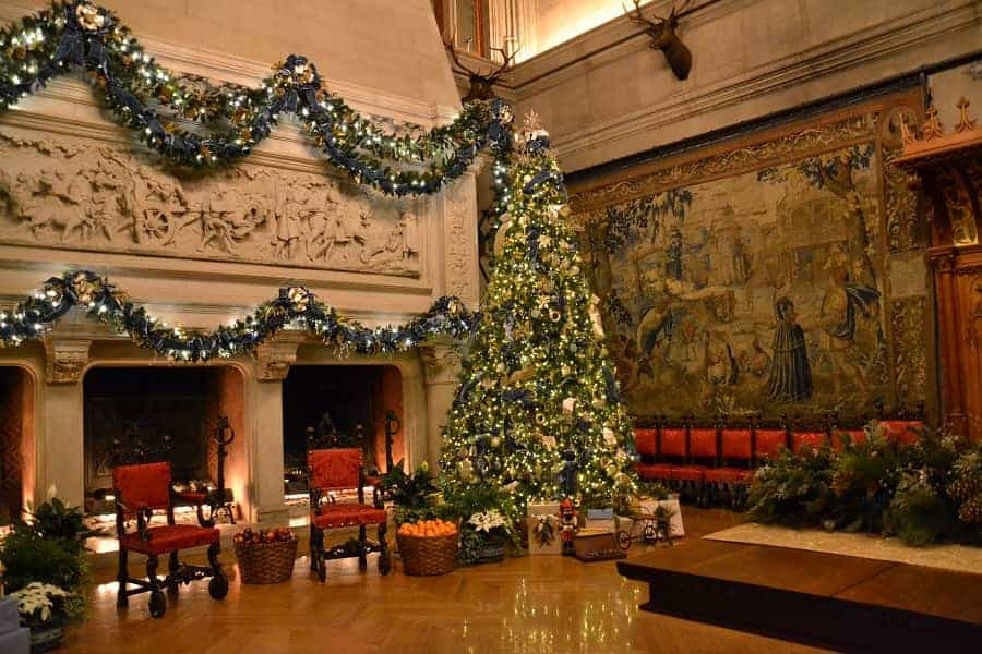 Biltmore House Christmas Displays