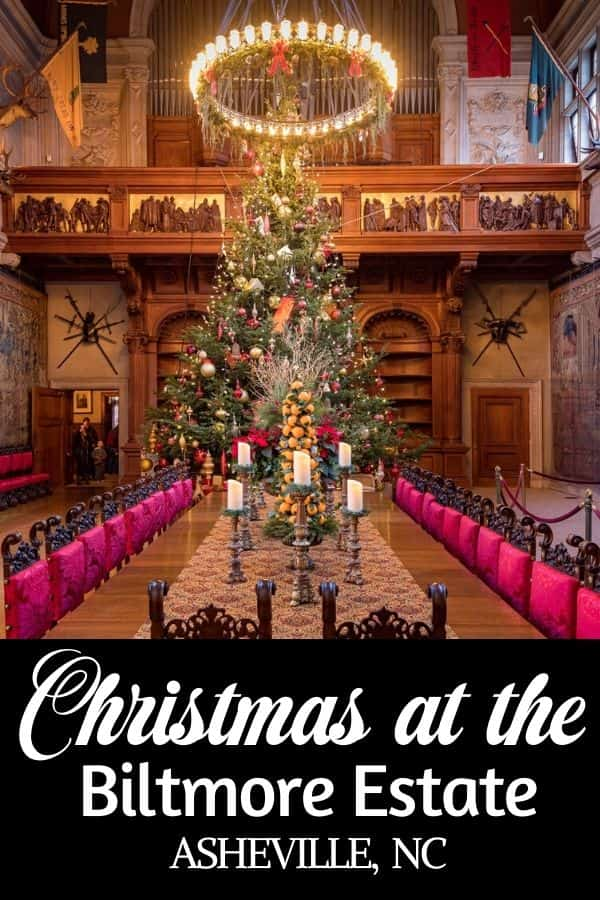 Christmas at the Biltmore Estate in Asheville NC