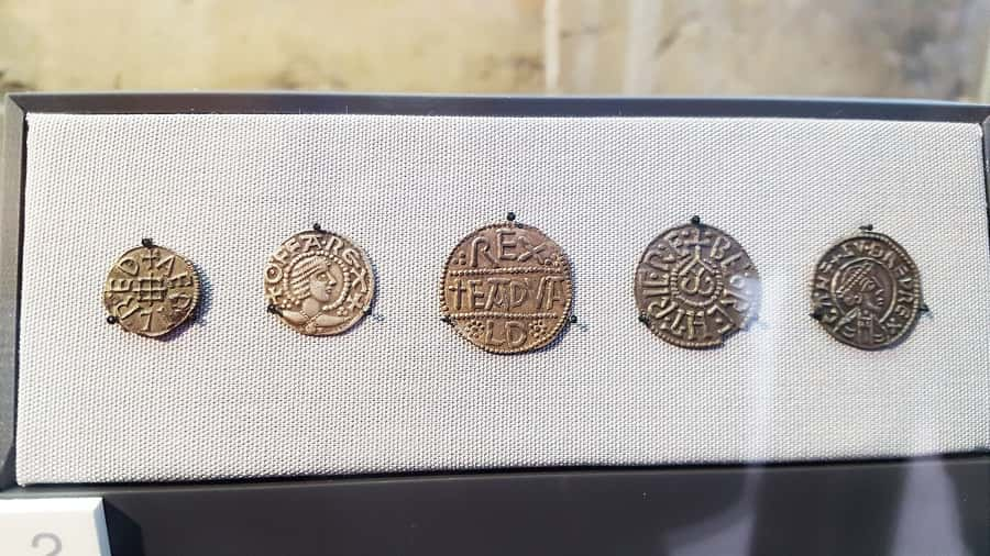 Roman Coins in Yorkshire Museum