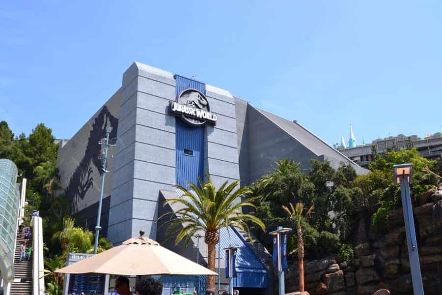 Jurassic World Ride Universal Studios