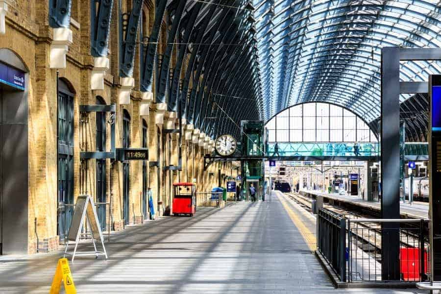 Kings Cross Station in London