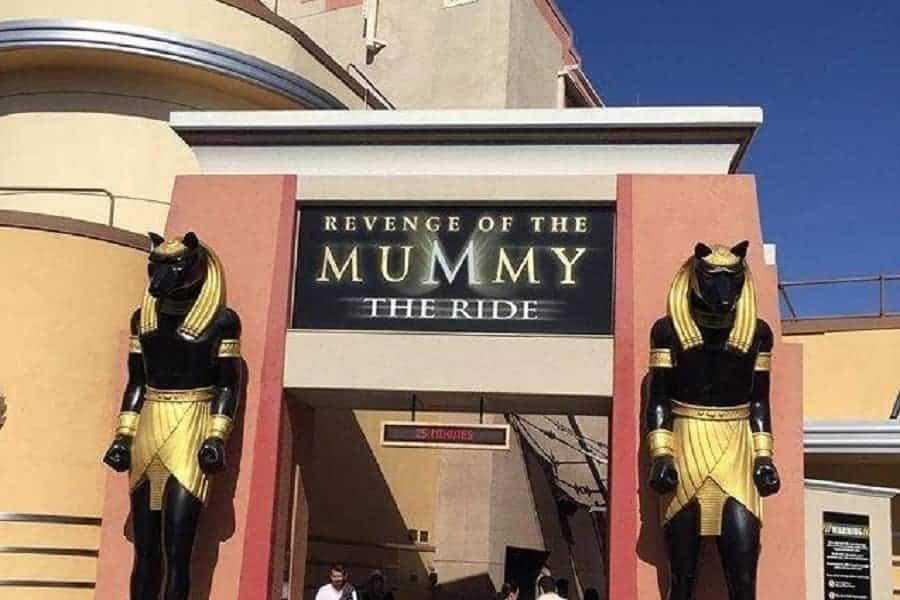 Mummy Ride at Universal Studios