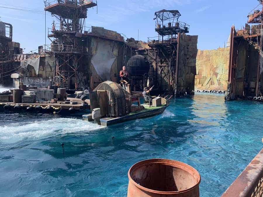 Waterworld Show at Universal Studios
