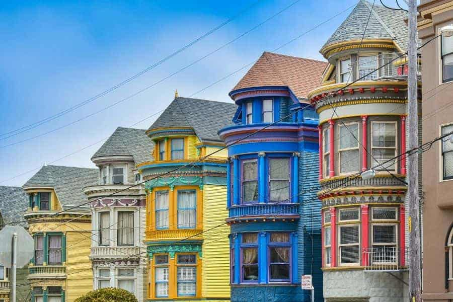 Victorian Homes in San Francisco