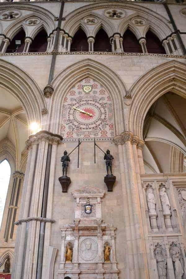 York Minster Striking Clock