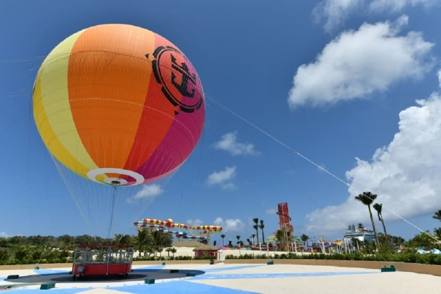 Up Up & Away At Coco Cay