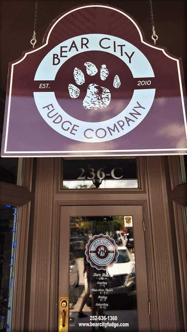 Bear City Fudge in New Bern