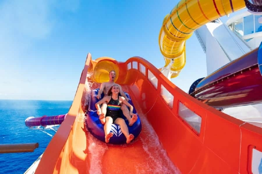 Blaster Slide on Navigator of the Seas