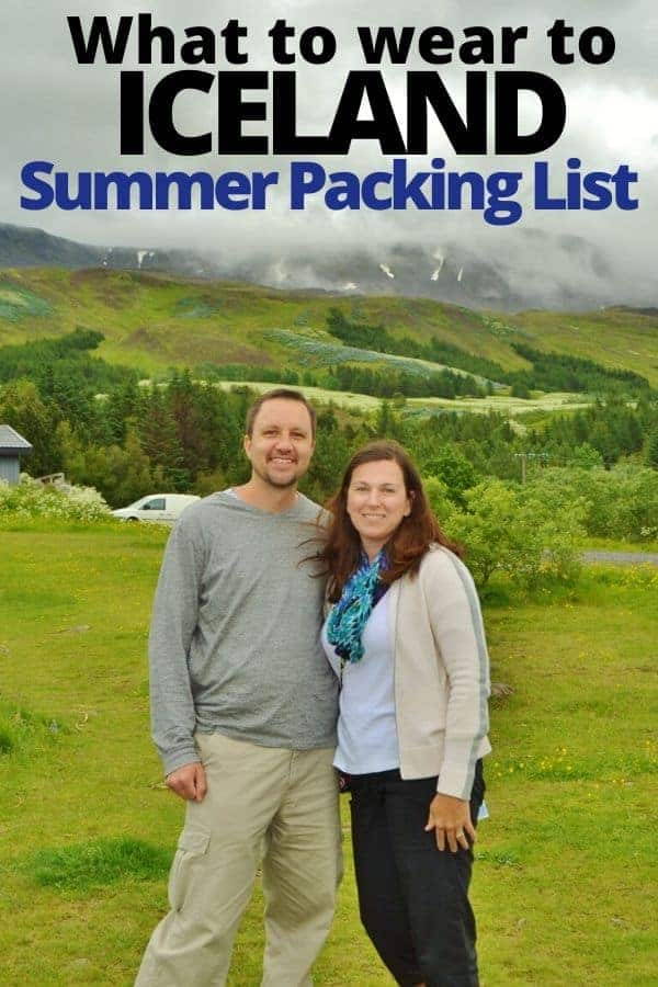 Clothing for Iceland in Summer (Packing List)