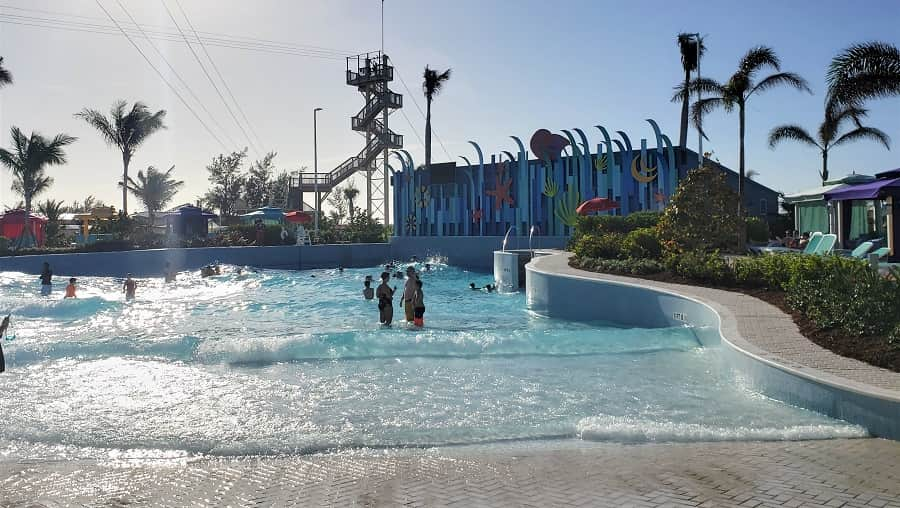 Coco Cay Wave Pool