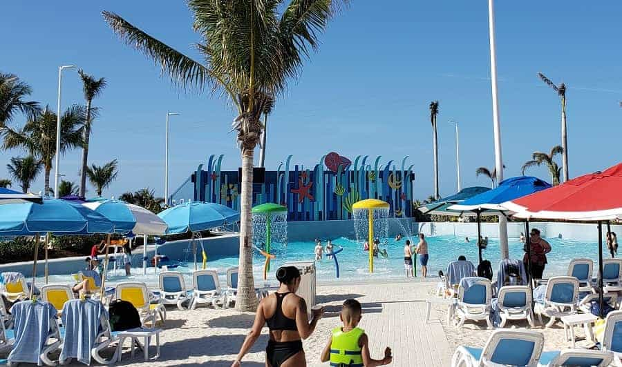 Wave Pool at Coco Cay